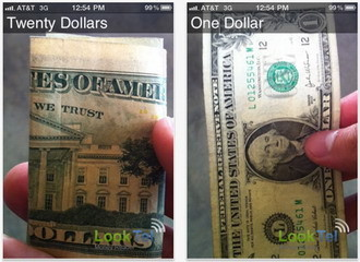 LookTel Money Reader iPhone app helps visually impaired instantly recognize U.S. currency