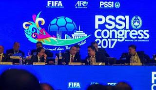 Kongres PSSI 2017 Lahirkan Sejumlah Keputusan Penting