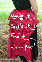 http://www.steamingenious.com/2012/05/tutorial-how-to-make-bustle-skirt-from.html