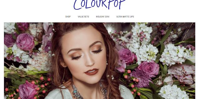 Świąteczne prezenty - część 1 - zamówienie ze sklepu Houseofbeauty! Colourpop!