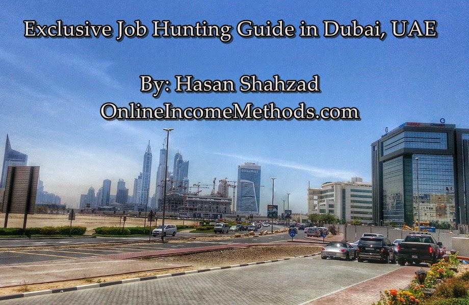 Best Job Searching eBook & Guide for Dubai, UAE on Visit Visa