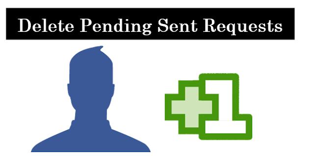 Cancel / delete pending Facebook friend requests