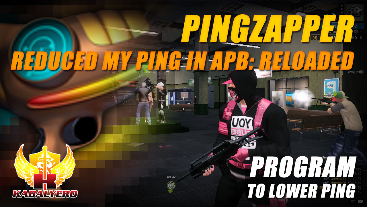 Program To Lower Ping ☆ Pingzapper Reduced My Ping In APB Reloaded