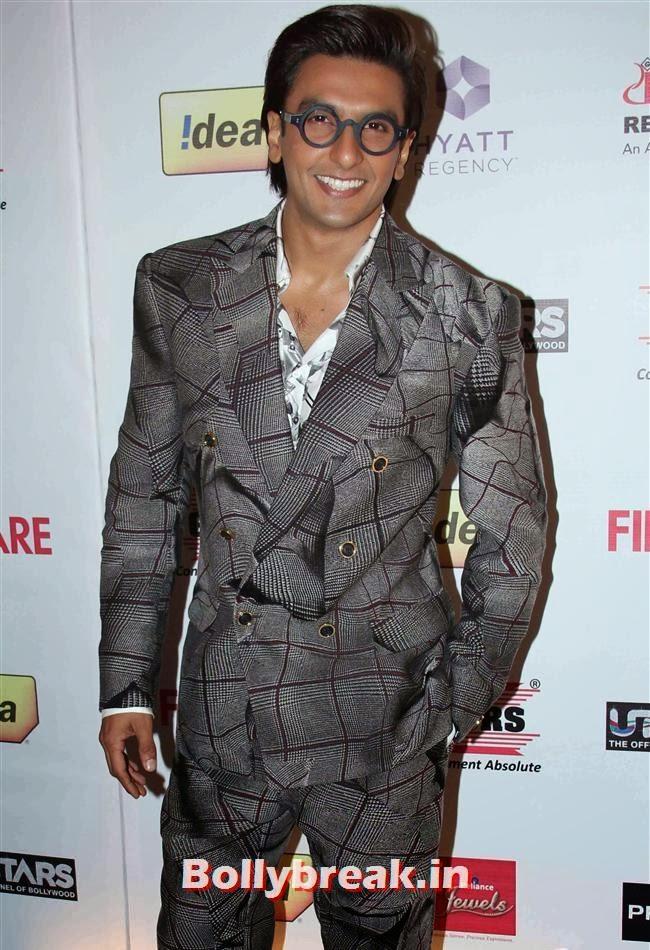 Ranveer Singh, Bollywood Actors at 59th Filmfare Pre Awards Party