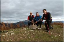 Ganboralde mendiaren gailurra 706 m. -- 2016ko azaroaren 20an