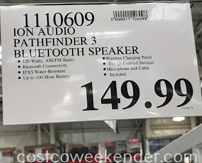 Deal for the Ion Audio Pathfinder 3 Speaker System at Costco