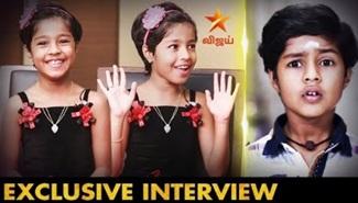 Cute Actress Baby Krithika Interview | MounaRagam Serial Shakthi Velan