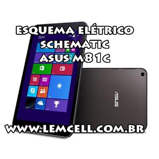 Esquema Elétrico Tablet Smartphone ASUS VivoTab 8 M81C Manual de Serviço  Service Manual schematic Diagram Cell Phone Smartphone ASUS VivoTab 8 M81C