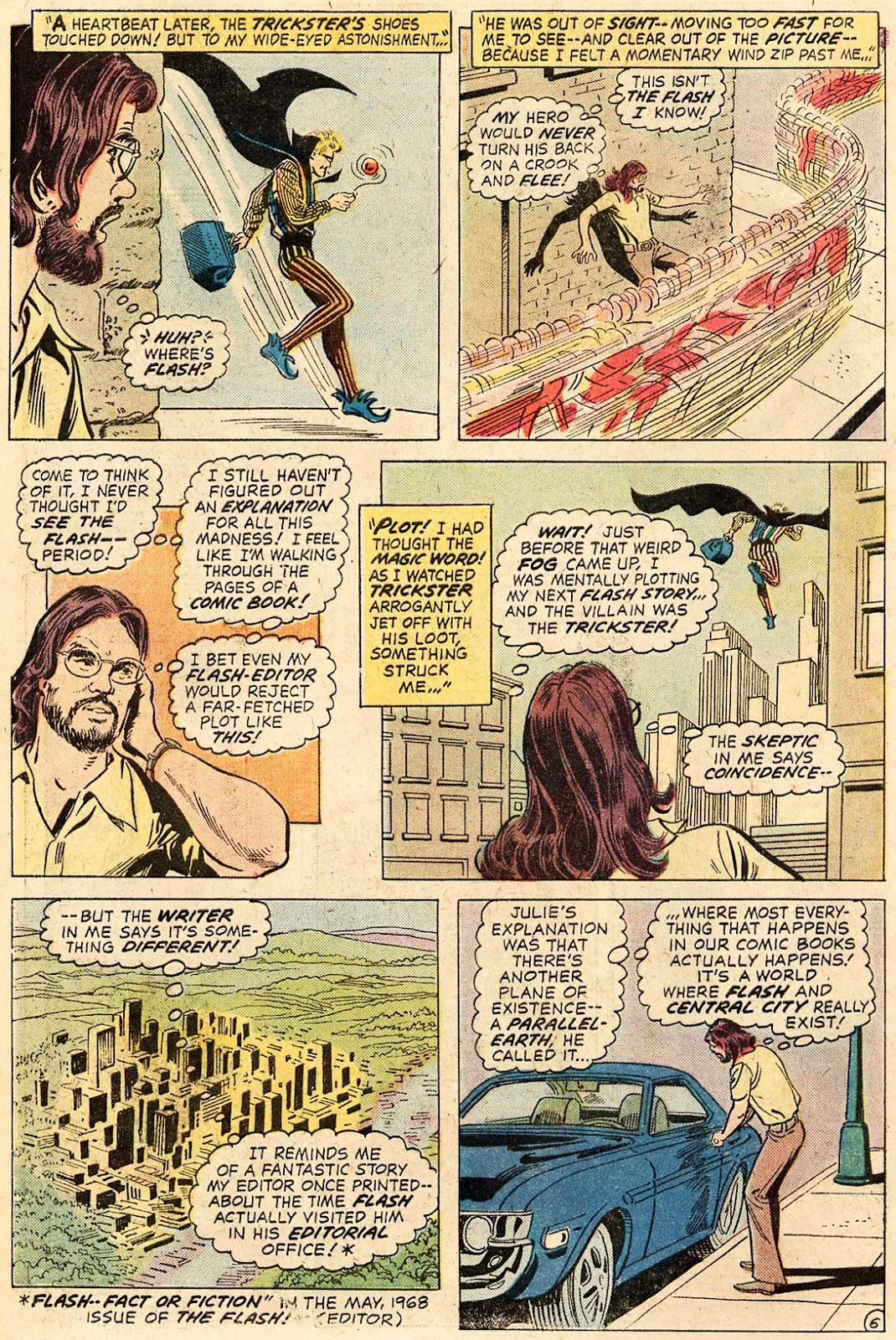 But these kinds of issues are always fun, even if it does seem slightly wrong that artist Irv Novick doesn't get to tag along as well.