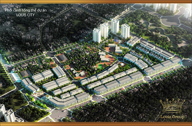 Khu đô thị Louis City Tân Mai