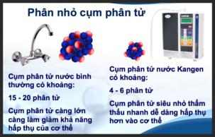 Cum phân tử nước siêu nhỏ