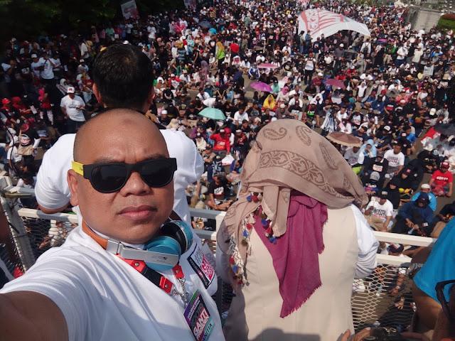 Aksi #2019GantiPresiden, Partai Pencuri Start Kampanye Ini Salahkan PKS