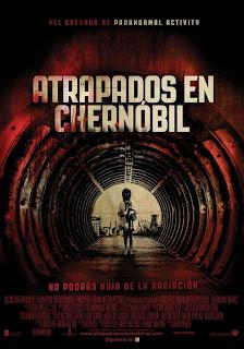 nos vams al cine, película, cartelera, diarios de Chernobil atrapados en Chernobyl, chernobyl diaries,