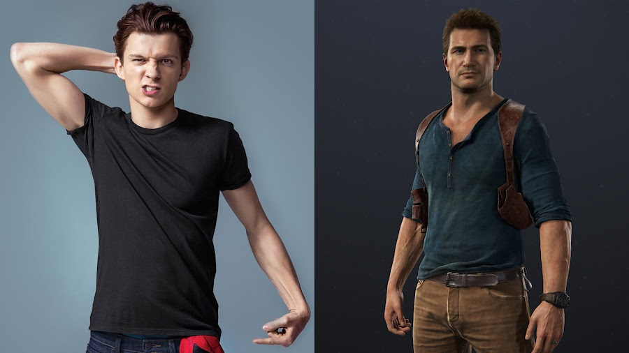 tom holland nathan drake uncharted