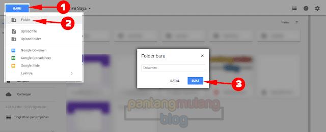 Cara Menyimpan File di Google Drive
