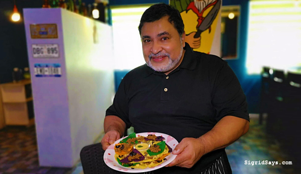 Los Trez Amigos Mexican restaurant - Bacolod restaurant - Bacolod blogger - Chef David Garcia