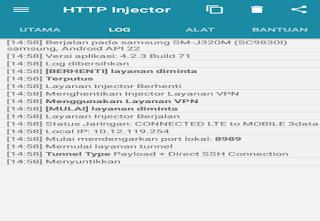 Mengatasi HTTP Injector Mentok/Berhenti Di Menyuntikan Terus Terbaru