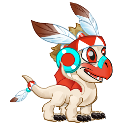 Appearance of Amerindian Dragon when baby