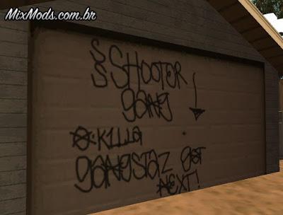 mais grafites gta sa mod