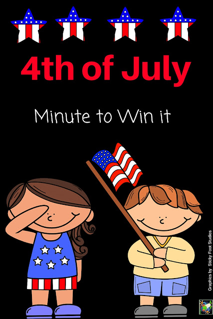 4th of July Minute to Win It!