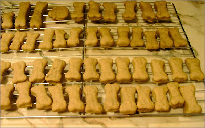 homemade dog biscuits