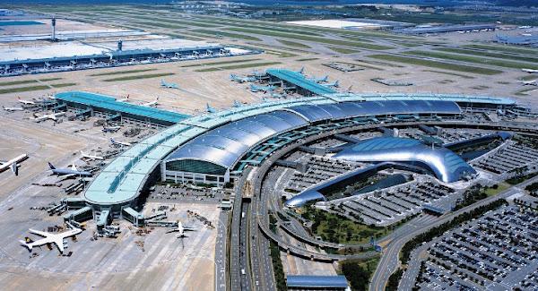 Bandara Internasional Incheon, Korea Selatan. ZonaAero