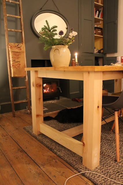 DIY Farmhouse Table Legs