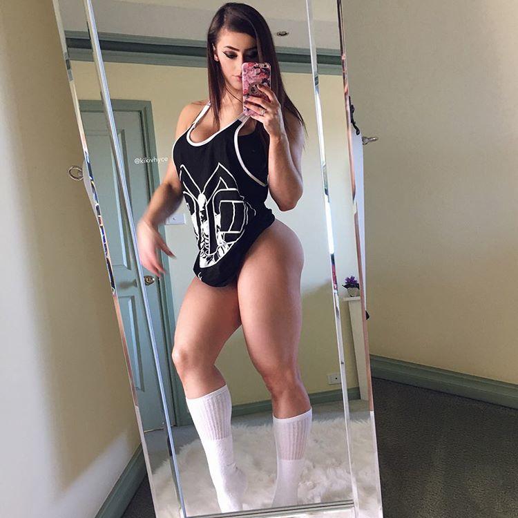 Fitness Model KIKI VHYCE Instagram