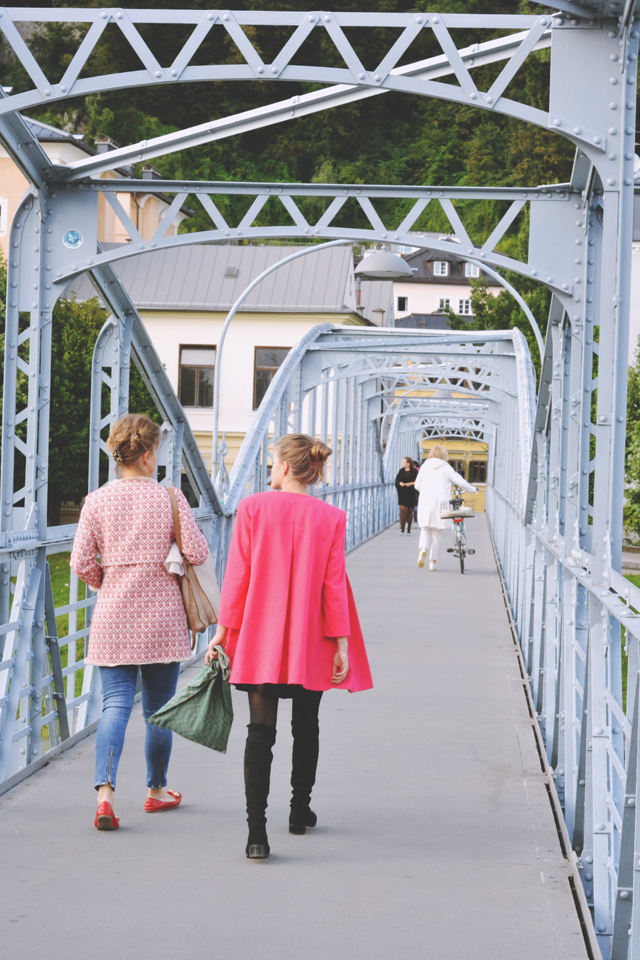 Salzburg Mozartsteg Bridge