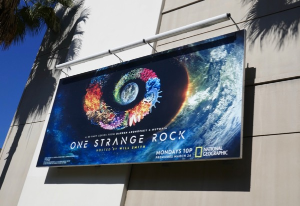 One Strange Rock series premiere billboard