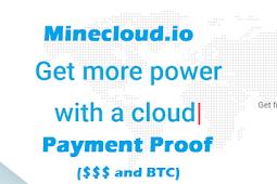 Bukti Pembayaran dari Situs Mining Minecloud.io (Dollar dan Bitcoin)