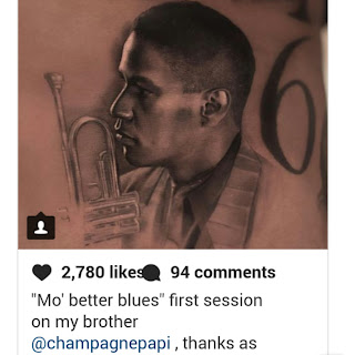 Xtras: Drake's Denzel Washington Tattoo Leaves The Actor With Some Questions