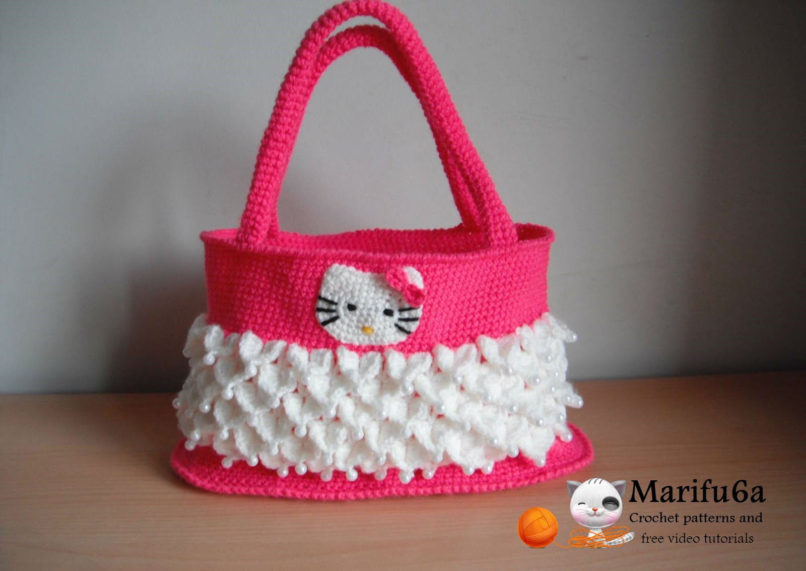 hello kitty bag crochet pattern