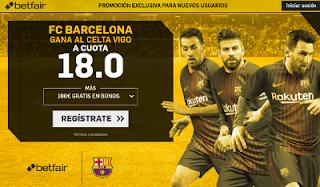 betfair supercuota Barcelona gana al Celta 4 enero