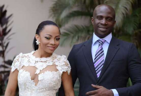 Toke MAKINWA has filed for a divorce from husband maje ayida on grounds of adultery