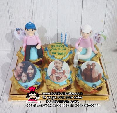 Cupcake Ulang Tahun Tema K-pop