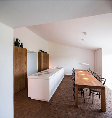 дизайн современной умной кухни чердак