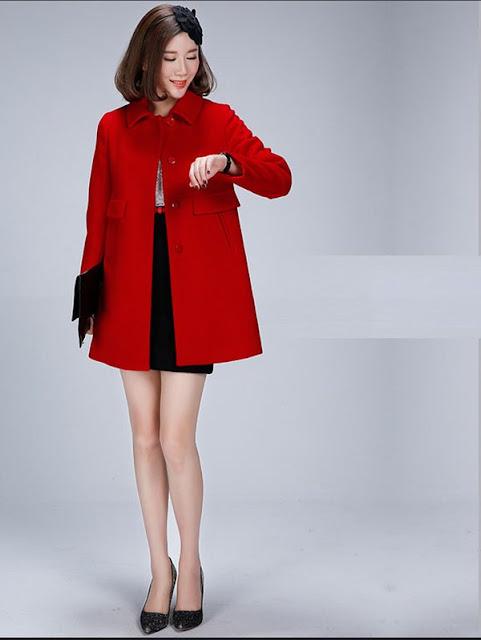 Các mẫu áo dạ đẹp cho nữ mùa đông ấm áp