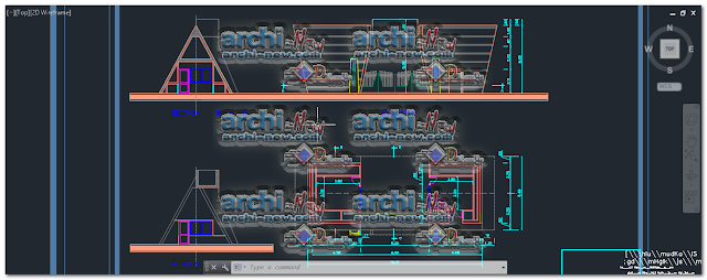 Download-AutoCAD-entrance-gate-dwg-cad