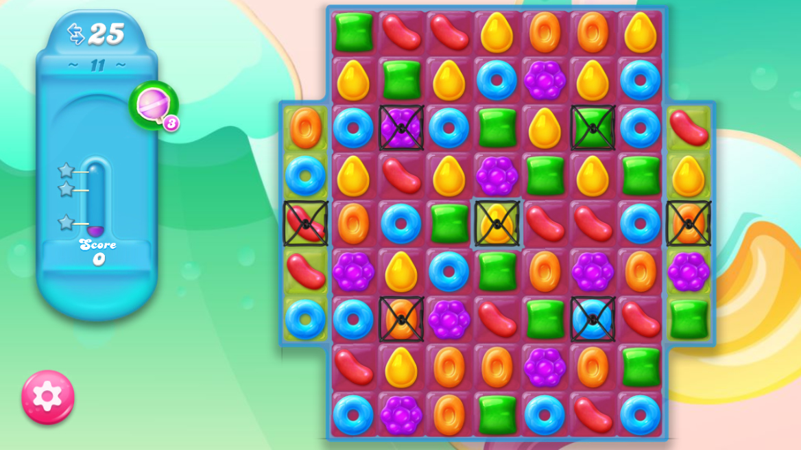 Candy Crush Jelly Saga 11