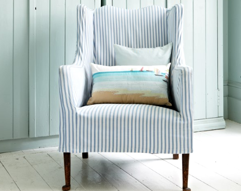 Slipcovered Furniture Sofas  Chairs for Easy Coastal