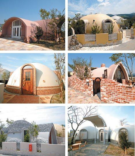 Dome Home Design Ideas: Dome House Villa Design
