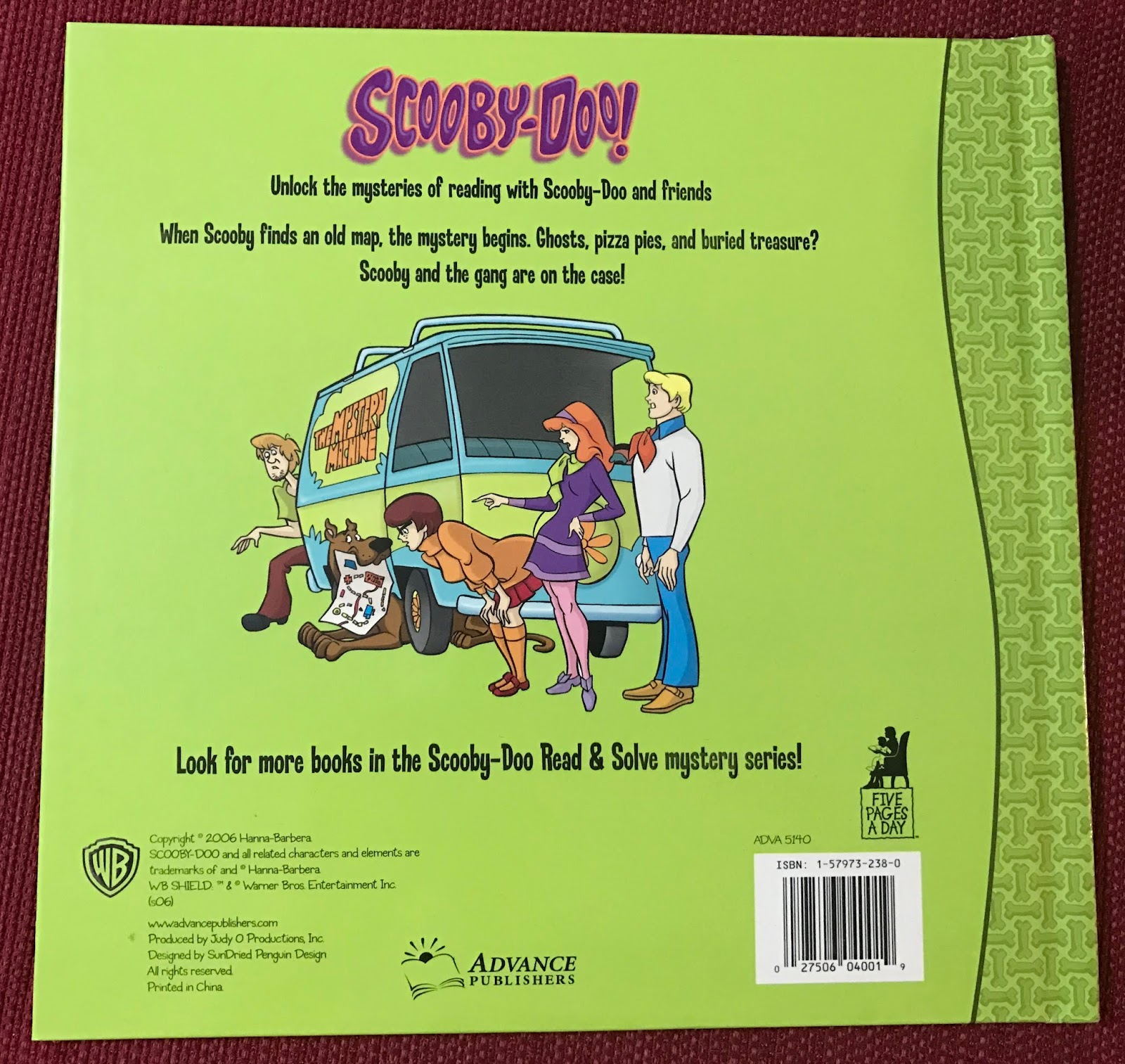 ScoobyAddict's Blog: My Scooby Stuff - Day 224 - Map in the ... on scooby doo ruh-roh, scooby doo the mystery car, scooby doo adventures,