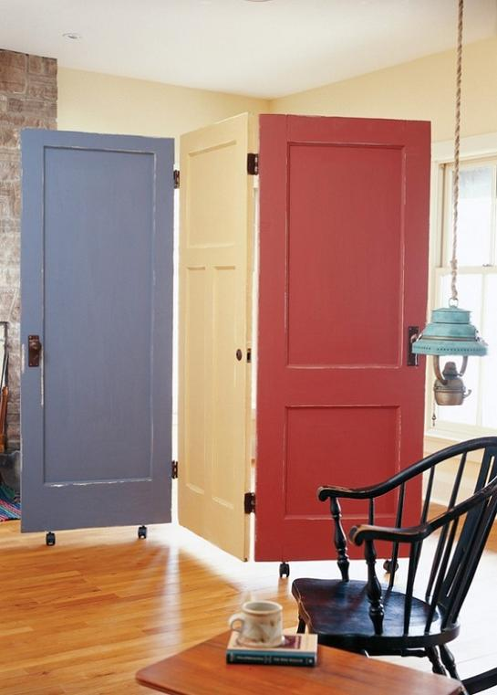 29 Creative Diy Room Dividers For Open: 18 Creative And Cool Ways To Reuse Old Doors