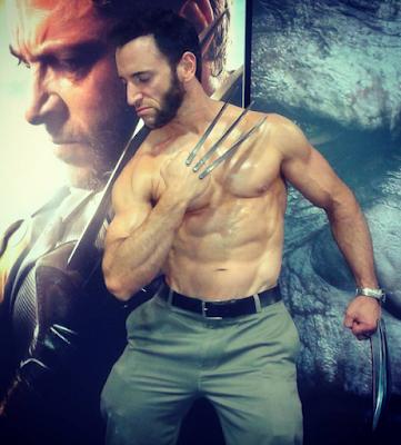 Disfraz de Wolverine hombre