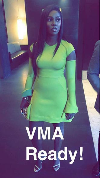 Again, Tiwa Savage and DJ Khaled spotted together (at MTV VMAs)