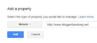 masukkan url blog baru