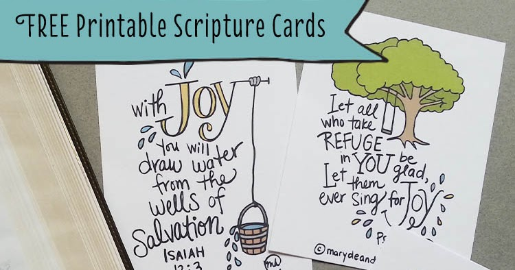 graphic about Free Printable Scripture Cards identify The Contentment useful resource + Cost-free printable Scripture playing cards - Marydean Attracts