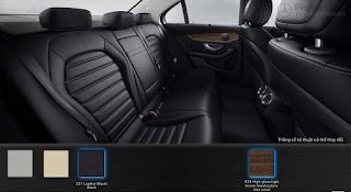 Nội thất Mercedes C250 Exclusive 2018 màu Đen 221