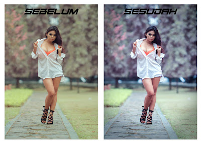 Cara Edit Foto di Photoshop Photo False Color